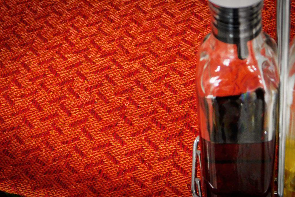 Gôbelins | Productos | Gobelins Fique Telar Individuales Texturas Naranja